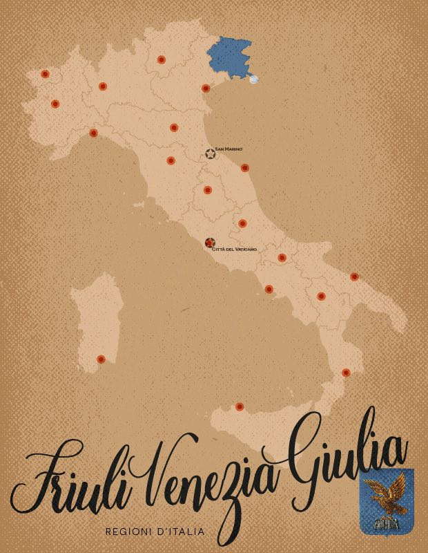 Italia Regioni Friuli Venezia Giulia