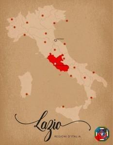 Italia Regioni Lazio