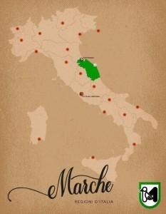 Italia Regioni Marche