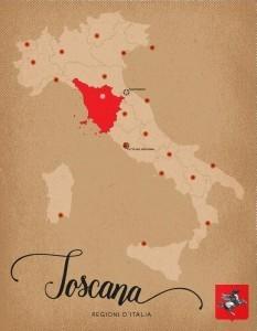 Italia Regioni Toscana