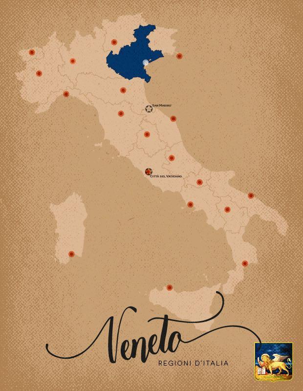 Italia Regioni Veneto