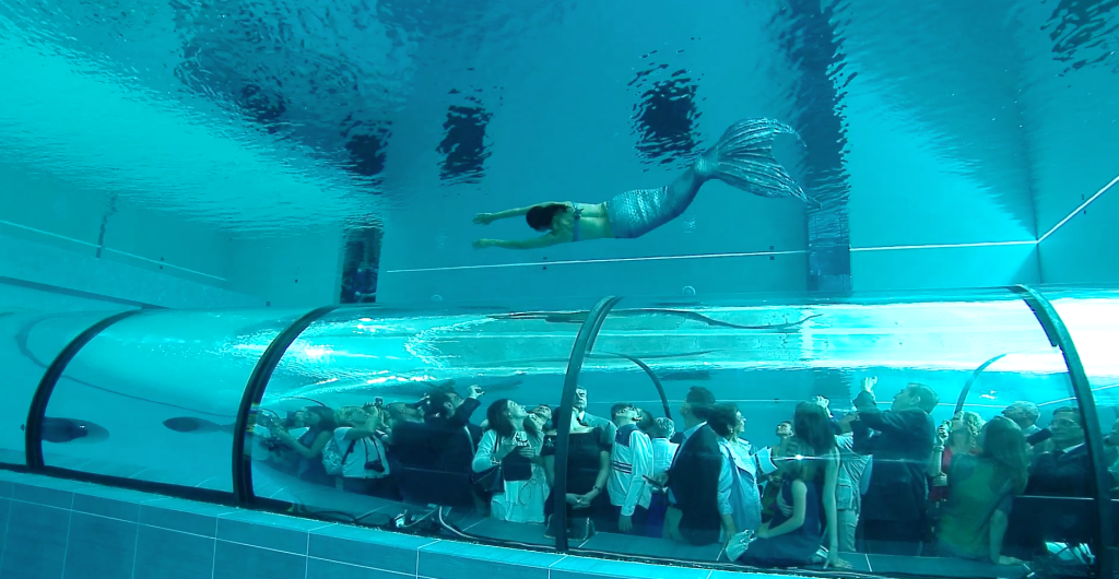 Galleria panoramica subacquea Hotel Terme Millepini Montegrotto Terme