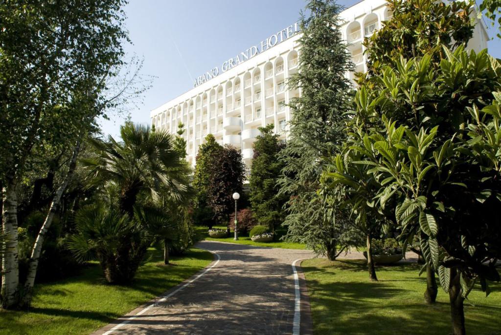 Terme Euganee esterno Grand Hotel Abano