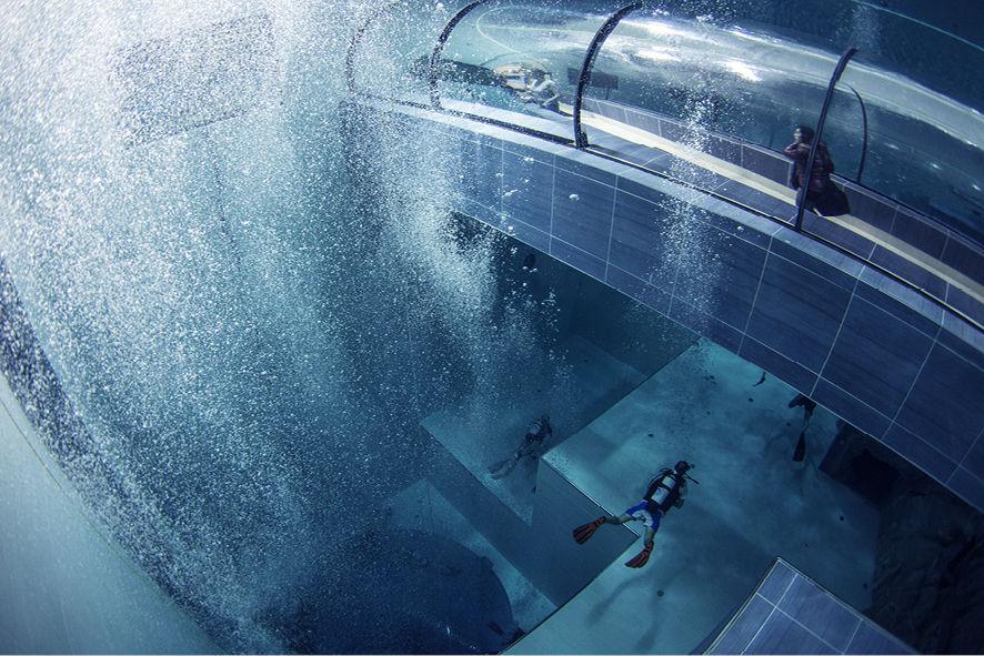 Y 40 la piscina pi profonda al mondo sui colli euganei for Piscina y 40 padova