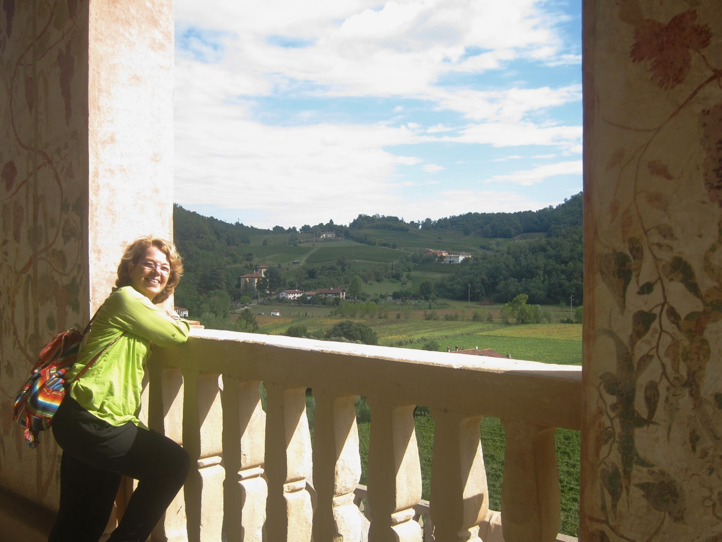 Panorama dalla Villa dei Vescovi nei Colli Euganei