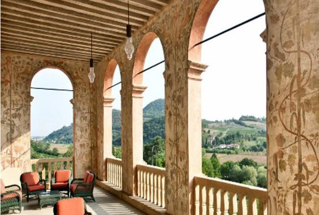 Loggiato della Villa dei Vescovi nei Colli Euganei