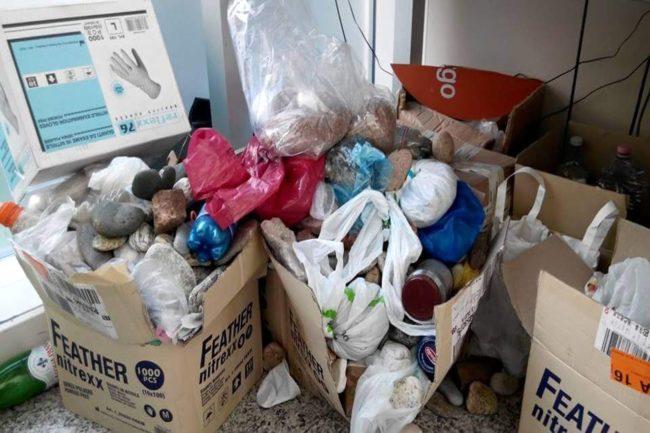 Sardegna rubata e depredata materiali sequestrati