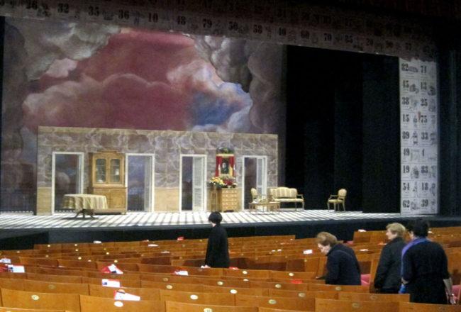 piccolo teatro platea