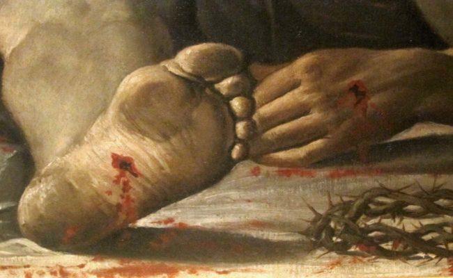 carracci cristo morto