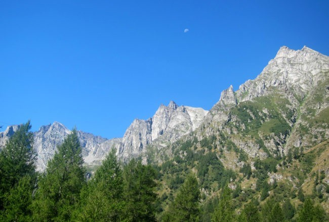 Le montagne che circondano Crampiolo