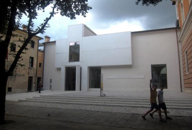 Facciata del nuovo Museo Bailo