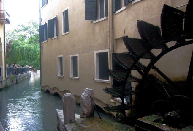 Treviso: mulino a Pescheria
