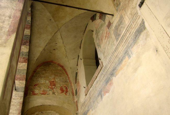 Treviso: Pescheria affreschi