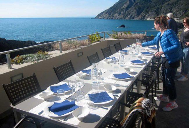 Framura; ristorante l'Agave al Porticciolo