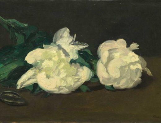 Manet e la Parigi moderna: Manet, Ramo di peonie bianche e cesoie