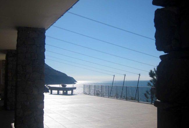 La Francesca: vista dalla terrazza del ristorante