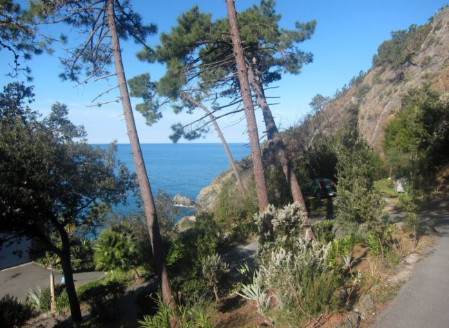 La Francesca: immersa nel verde di fronte al mare