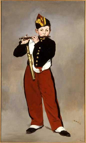 Manet e la Parigi moderna: Manet, Il pifferaio