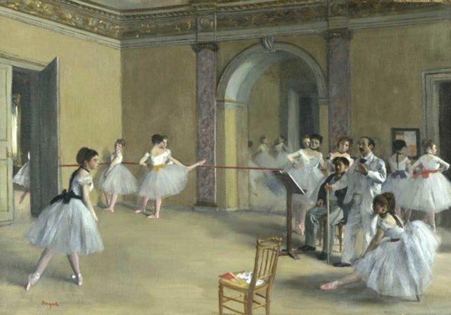 Manet e la Parigi moderna: Degas, Il foyer della danza al teatro dell'Opéra