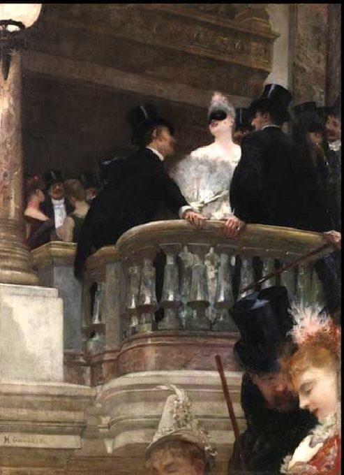 Manet e la Parigi moderna: Gervex ,Ballo all'Opéra