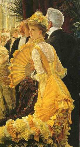 Manet e la Parigi moderna: J.J.Tissot, Il ballo