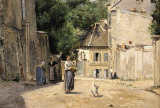 Manet e la Parigi moderna: Stanislas Lépine, Rue Saint Vincent