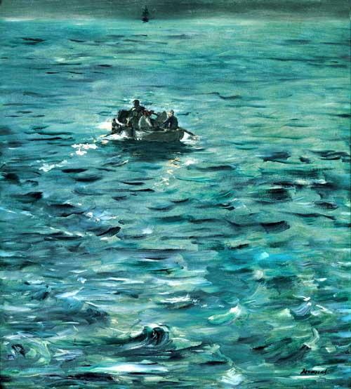 Manet e la Parigi moderna: Manet, La fuga di Rochefort