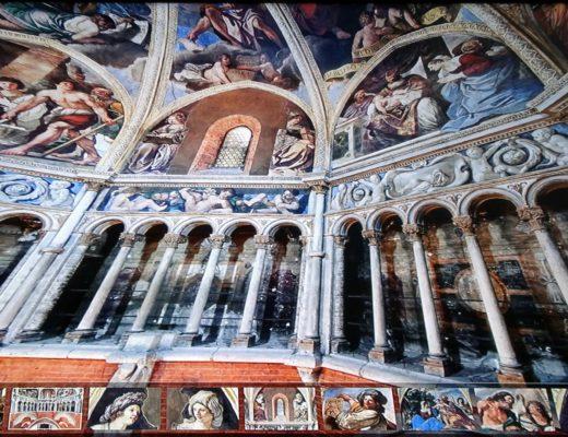 Il Guercino a Piacenza: decorazioni della cupola del Duomo (fotodi Francesca Longoni)