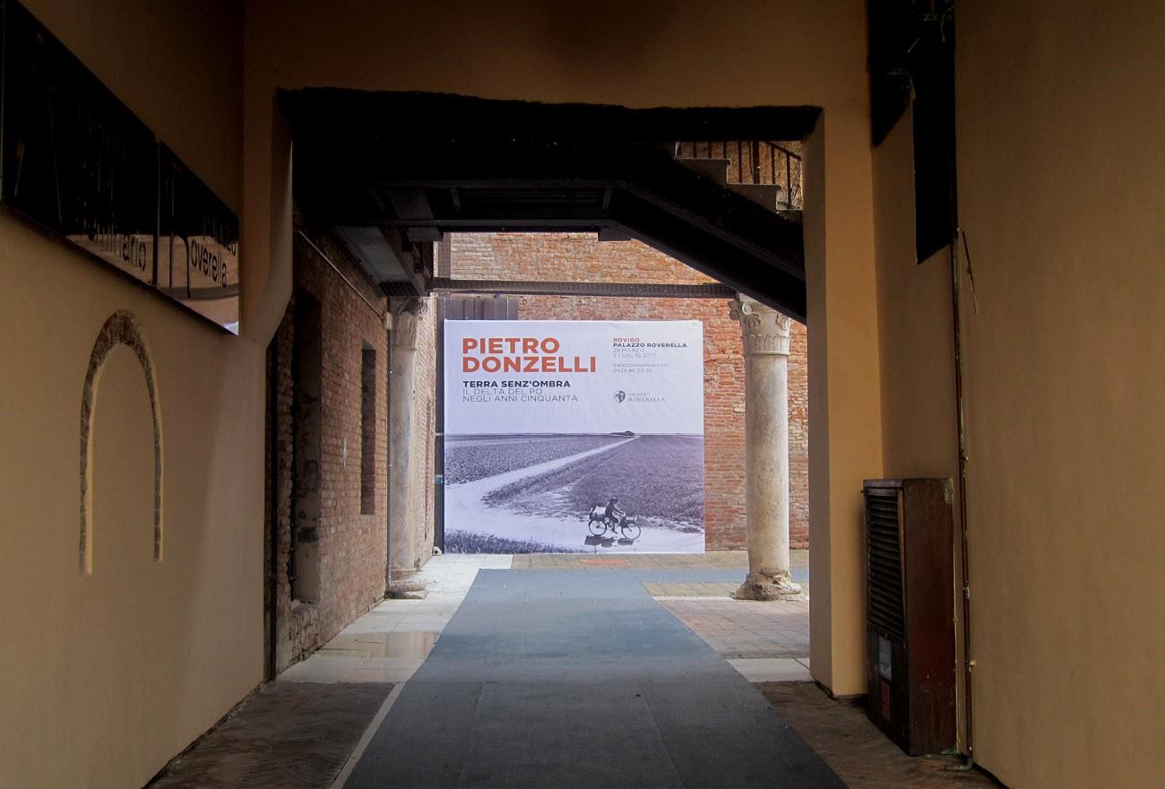 Polesine, terra senz'ombra: entrata alla mostra di Pietro Donzelli