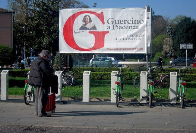Il Guercino a Piacenza: il primo benvenuto in città
