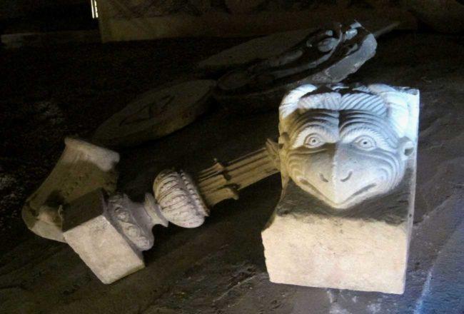 Il Guercino a Piacenza: sottotetto del Duomo