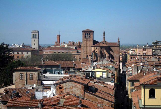 Il Guercino a Piacenza: la città vista dall'alto del Duomo