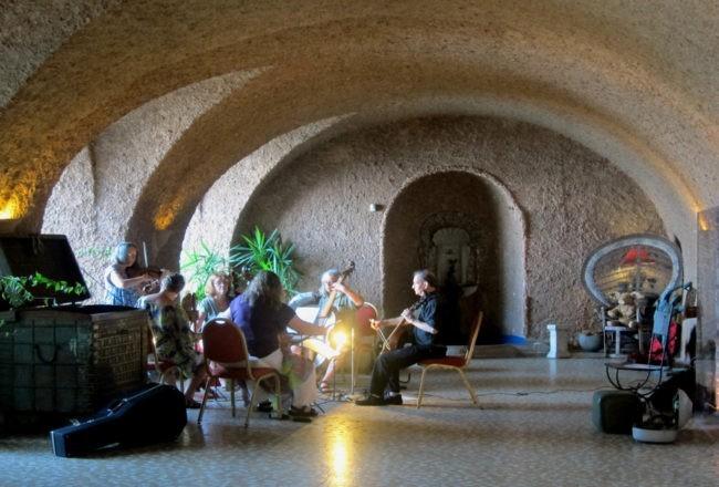Duino il romantico castello di Rilke: prove di musica