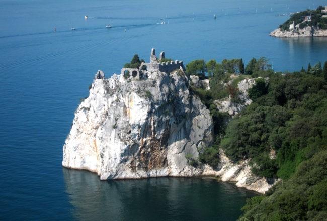 Duino il romantico castello di Rilke: il castello antico