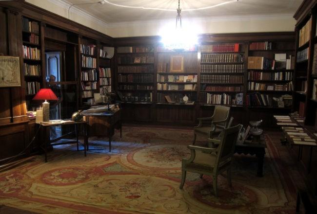 Duino il romantico castello di Rilke: biblioteca