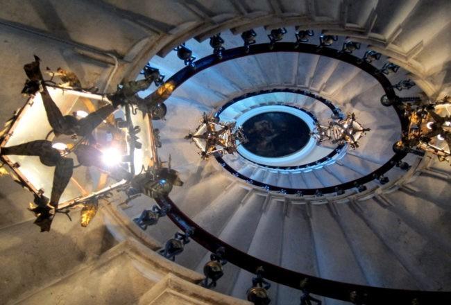 Duino il romantico castello di Rilke: lo scalone
