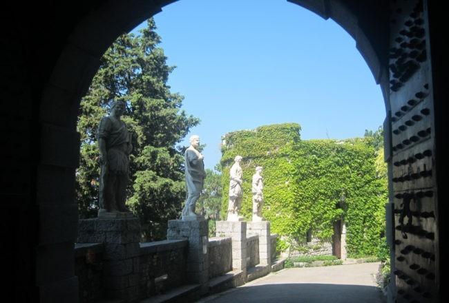 Duino il romantico castello di Rilke: entrando al castello