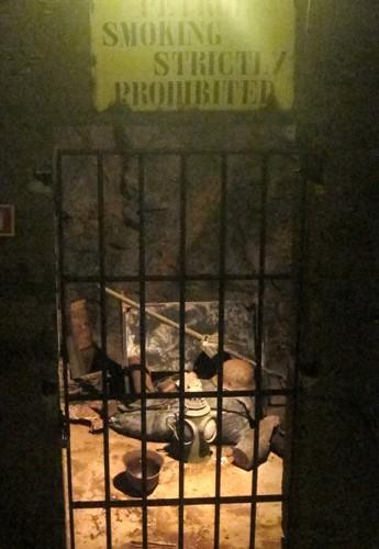 Duino il romantico castello di Rilke: bunker II guerra mondiale