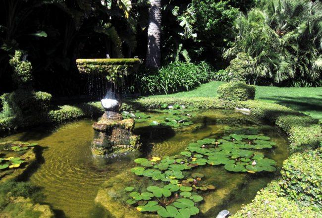 I giardini di villa della pergola ad alassio vagabondi for Laghetti nei giardini