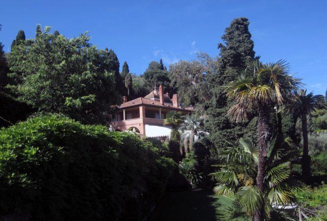 I giardini di villa della pergola ad alassio vagabondi for Giardini villa della pergola