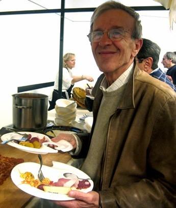 Giordano assaggia i piatti tipici delle Marche