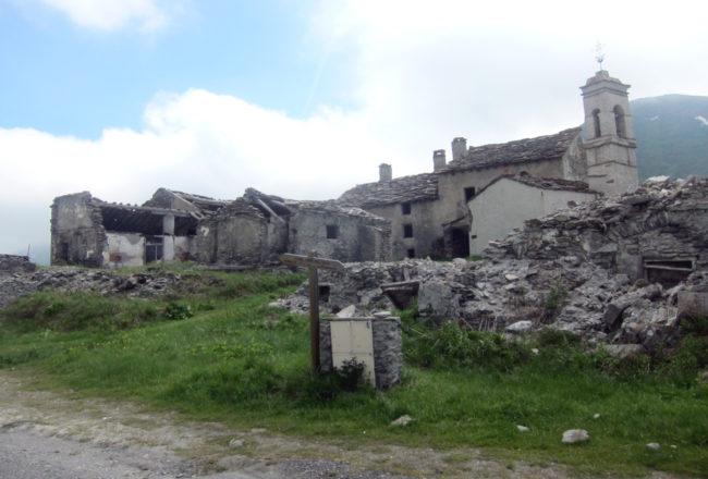 l'antico villaggio di Grand' Croix