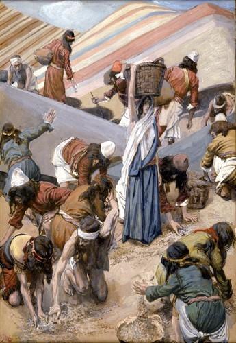 J. Tissot, La raccolta della manna