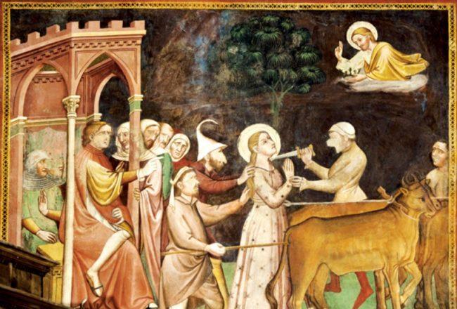 martiriodi Santa Caterina, Vallo di Nera