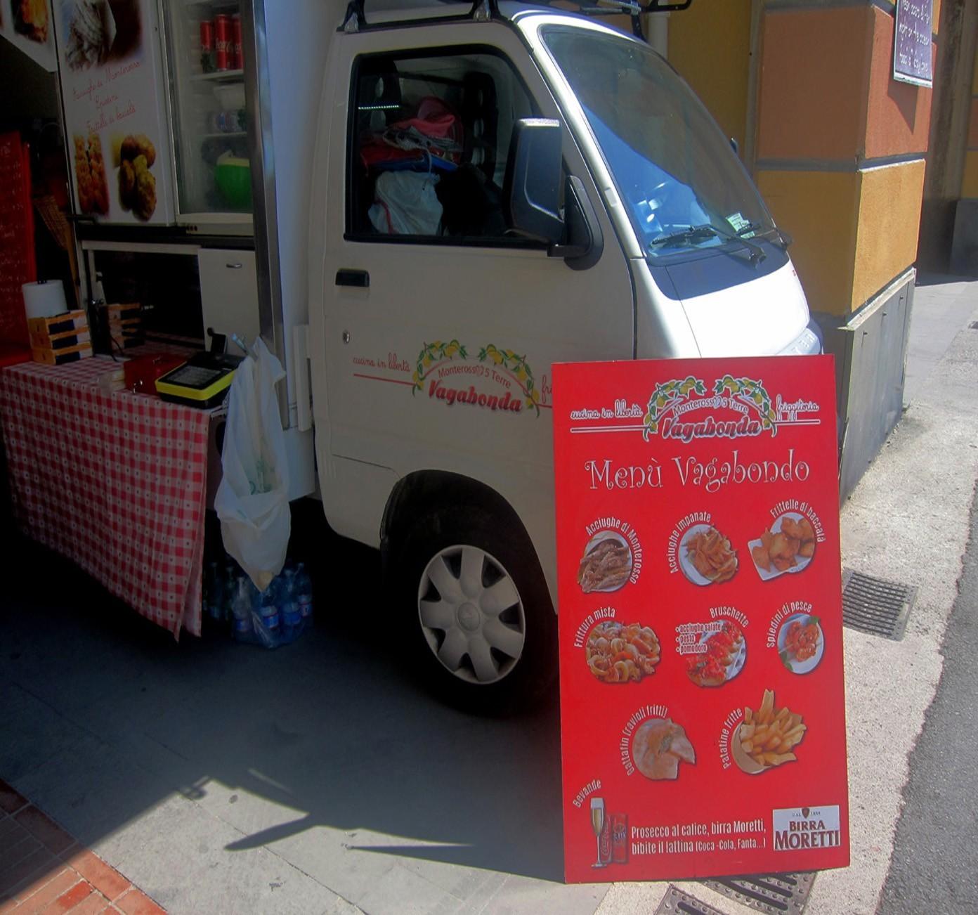 Street Food alla Cinqueterre