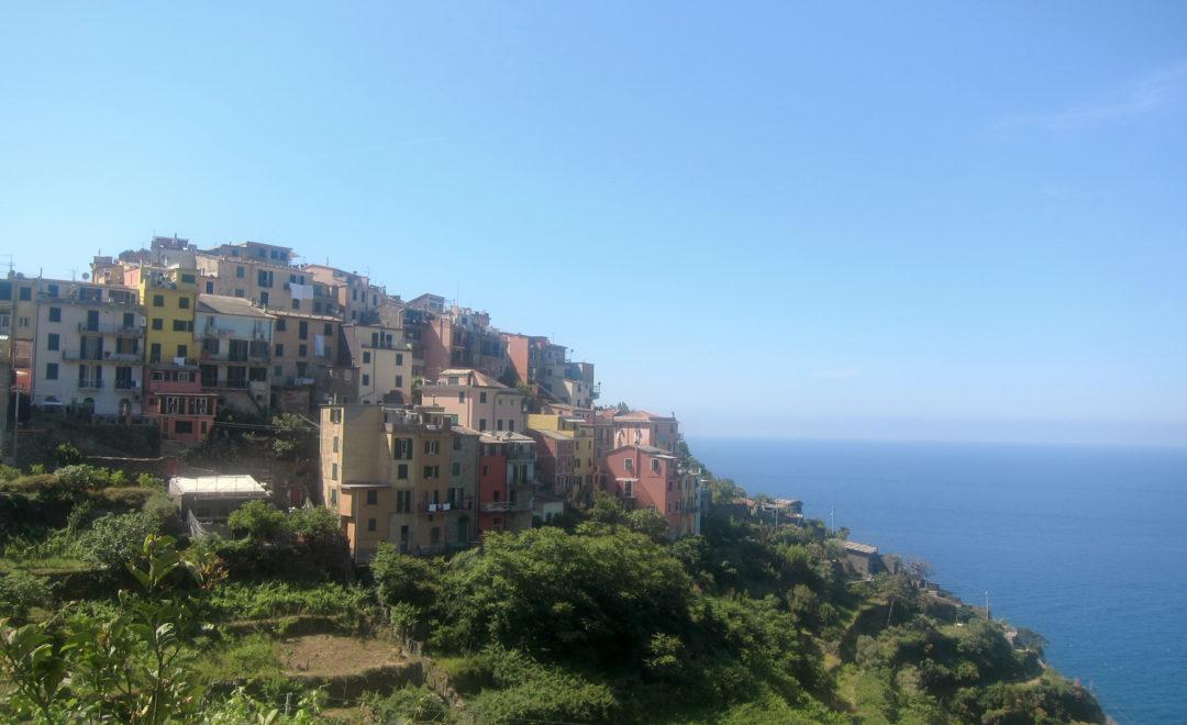 Da Corniglia a Volastra sulla Via dei Santuari - Vagabondi in Italia