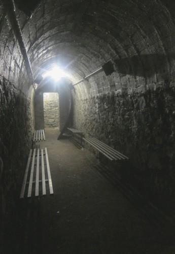 rifugio antiaereo interno al dinamitificio