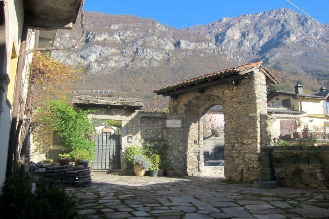 lierna chiesetta dei Santi Maurizio e Lazzaro