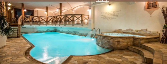 piscina hotel Gran Ciasa Colfosco