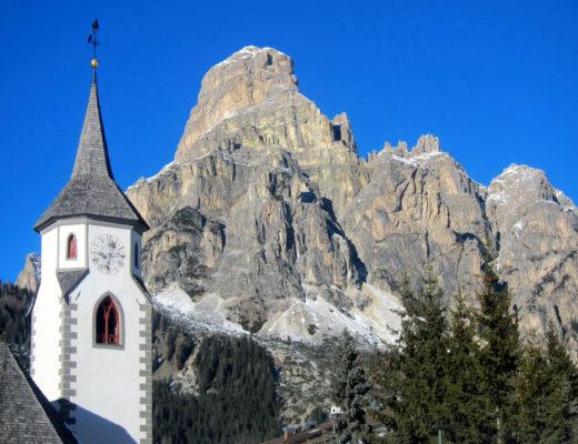 chiesa gotica corvara alta badia